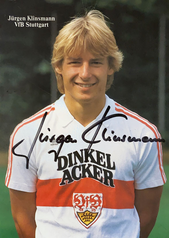 Autograph Jurgen Klinsmann Autogramm
