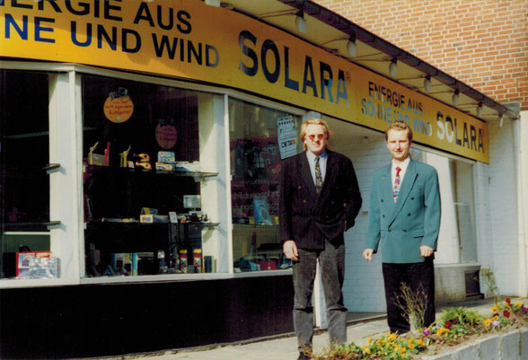 Hans Jacobs (l.) and Thomas Rudolph 1996