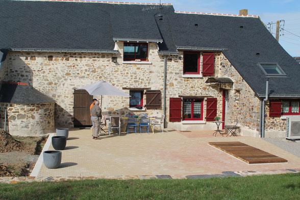 Location du gîte le St Joseph à St Aubin des Chateaux près de Chateaubriant en Loire atlantique