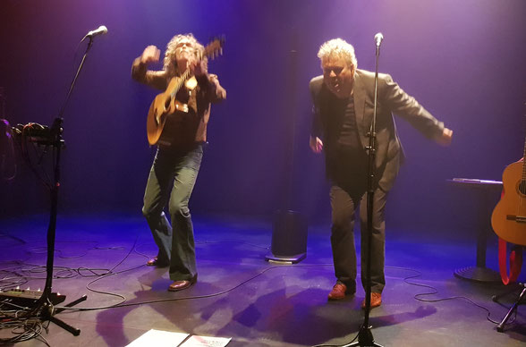 Verreck & Pleijsier, mei 2018, Veurtheater Leidschendam. Foto: Peter Ten Wolde
