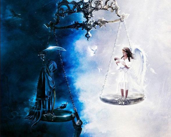 Картинки по запросу balance of life and death