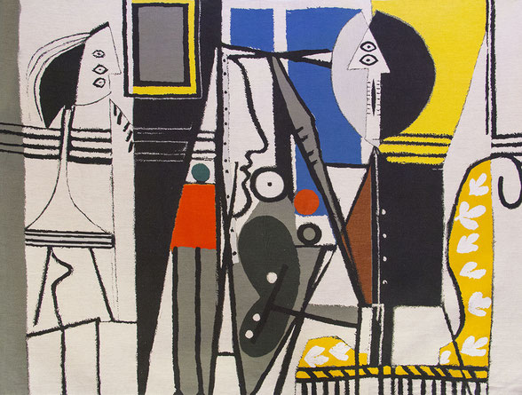 Pablo Picasso est enfin édité en tapisserie contemporaine