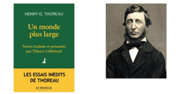 Couverture Un monde plus large #Essais #Action #Journal #Textes #BrûlotsPolitiques #Société #Historique #Contemporain #Liberté #DésobéissanceCivile #Violence #Temps #Simplicité #Travail #Argent #Modernité #Nature Henry David Thoreau