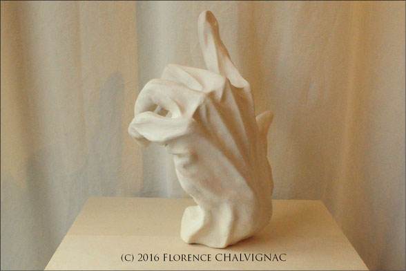 (C) 2016 Florence CHALVIGNAC, Grès Blanc