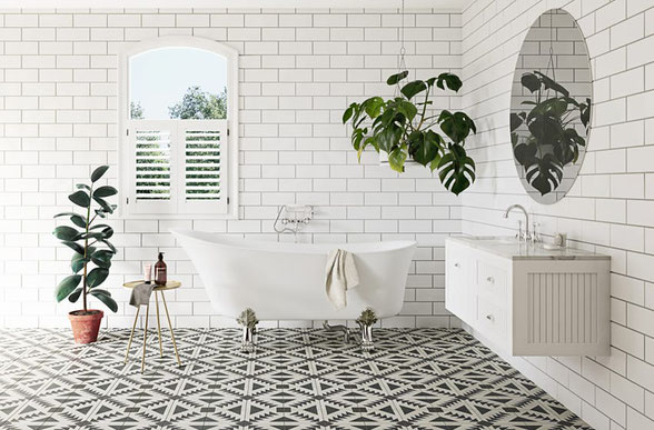 Traditional bathroom renovation in Sydney