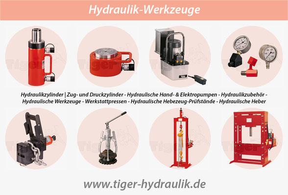 Tiger-Hydraulik-Wekzeuge