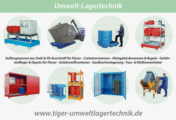 Tiger-Umweltlagertechnik