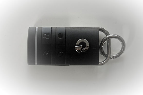 Transponder Jablotron scharf schalten unscharf schalten Sicherheit für die Hosentasche