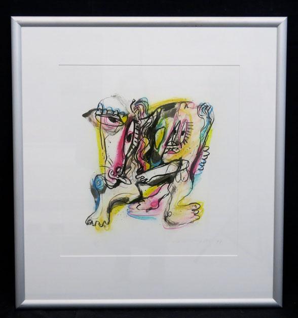 te_koop_aangeboden_een_zeefdruk_van_de_nederlandse_kunstenaar_henk_vierveijzer_1950_abstracte_kunst