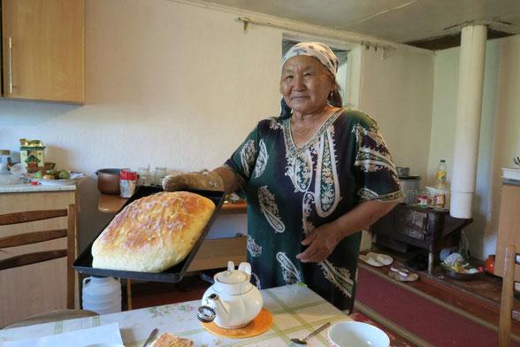 Le pain frais de Zina