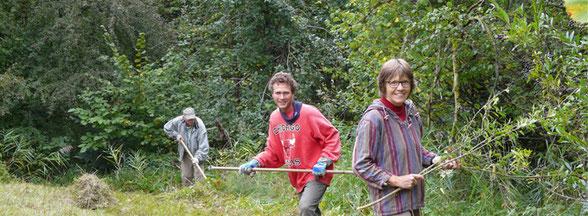 Landschaftspflege, Foto: A.Treffer