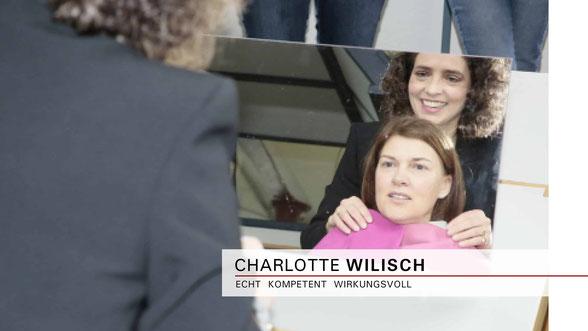 Charlotte Wilisch - Nonverbales Selbstmarketing - Strategische Farbberatung und Stilberatung- Vorträge |  Seminare |  Beratung