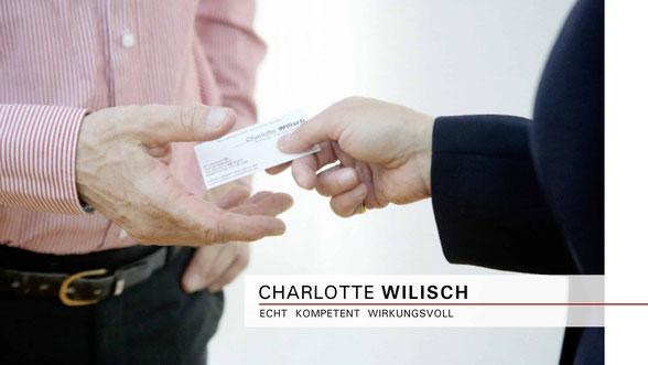 Charlotte Wilisch - Nonverbales Selbstmarketing - Business-Knigge und moderne Umgangsformen - Vorträge | Seminare | Beratung