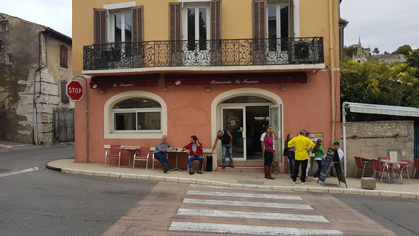 Bild: Brasserie le France in Mane