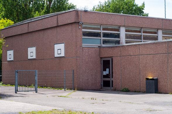 Eingang Einfachhalle Gesamtschule Brand