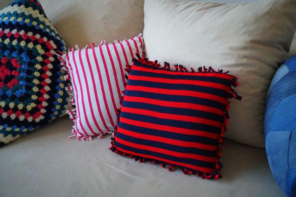 biberette - no sew sofa kissen