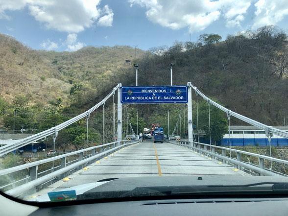 Bridge Boarder Crossing from Guatemala to Belize