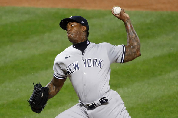 Aroldis Chapman (Charles Wenzelberg/New York Post)
