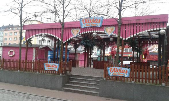 Olivias Kiez Oase am Spielbudenplatz in Hamburg auf St. Pauli