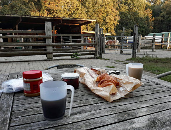 Wandererfrühstück