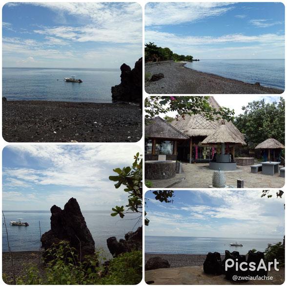 AlamBatu Tauchresort | Direkt vor dem Resort liegt ein fast unberührtes Hausriff |            Zahlreiche nahegelegende Tauchplätze kann man mit dem Boot erreichen