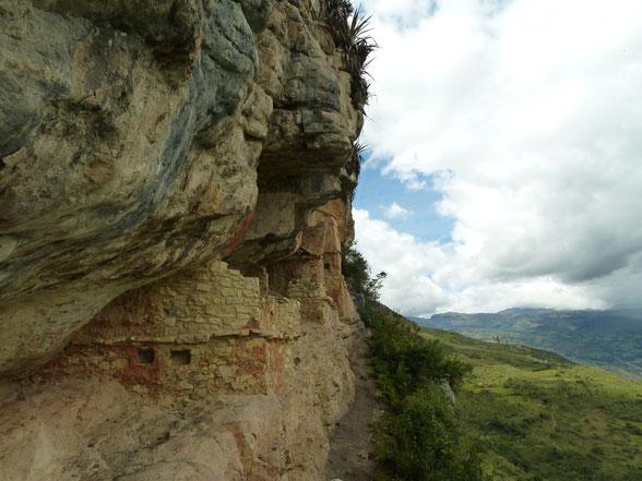 Chachapoyas hat viel zu bieten, phantastische Landschaft, unzählige Ausgrabungsstätten