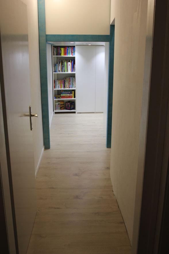 Blick ins geteilte Kinderzimmer