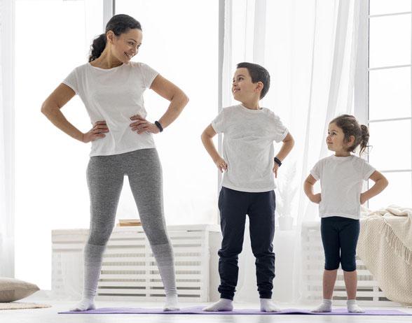 Yoga enfants avec christine videgrain - Saint-Pierre-des-Corps - Association Harmonie et Bien-être - Centre de sport et santé