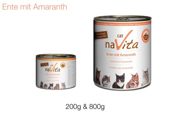 naVita-Naturkost für besondere Feinschmecker-Katzen
