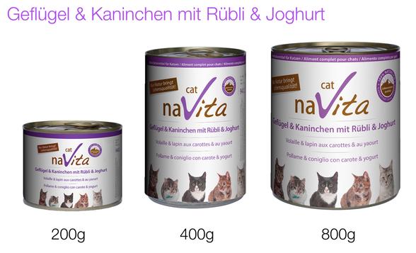naVita-Fleischmenü für Gourmets