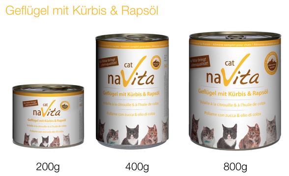 naVita-Naturkost für alle Katzen