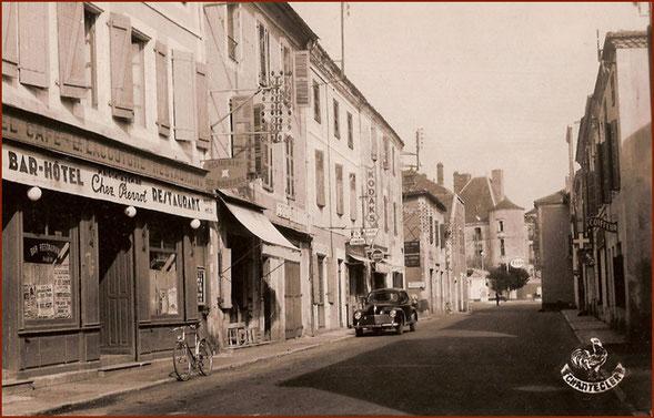 La Rue Gambetta dans les années 1950