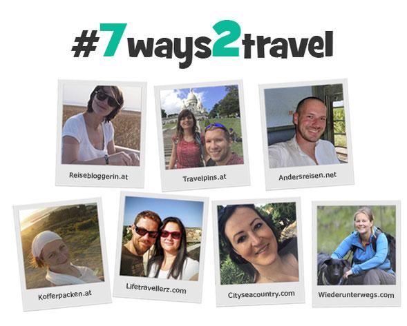 Die Blogger von #7ways2travel