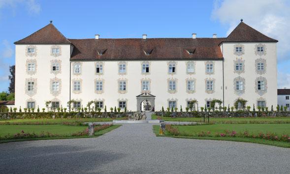 Schloss Zeil oberhalb unserer Ferienwohnung