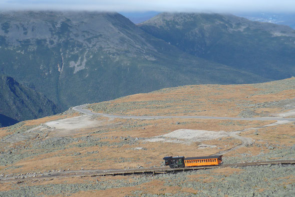 Mit der Bahn zum Mount Washington ©wandelsinn Geertje Jürgens-Wallasch