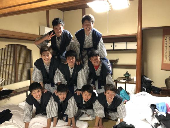 2018春🌸男子旅・・・ウォーターボーイズならぬ組体操boysとってもかわいいです。