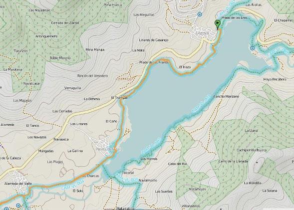 Pincha en el mapa y podrás descargarte la ruta en tu GPS o móvil