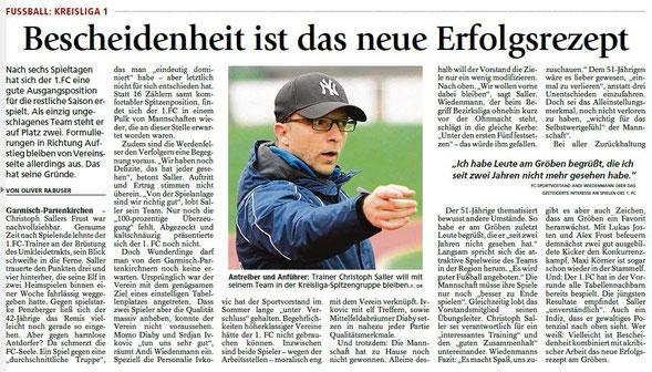 Garmischer Tagblatt vom 09.09.2015