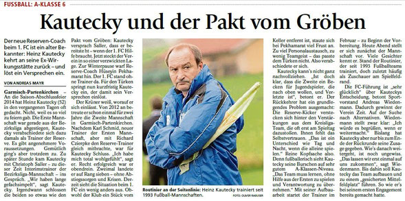 Garmischer Tagblatt vom 05.11.2015