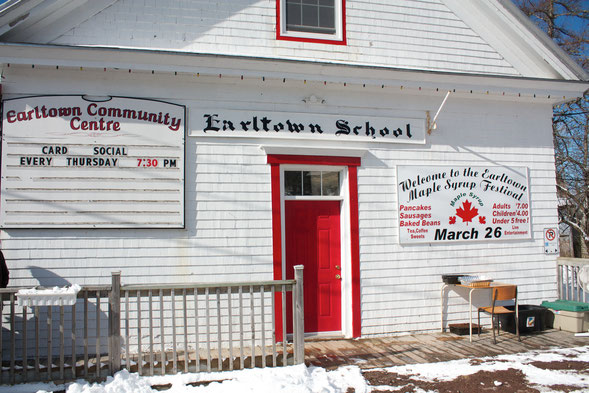 Annual Earltown Community Pancake Supper - the last Saturday of March. This year it's March 31!