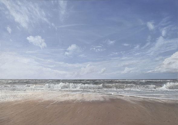 Uitwaaien aan zee  - nu te zien bij Galerie Montulet in Den Haag