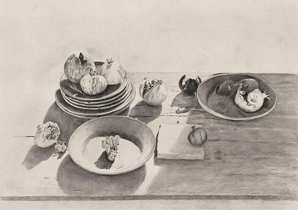 OHNE TITEL | Zeichnung | 46,3 × 65,5 cm
