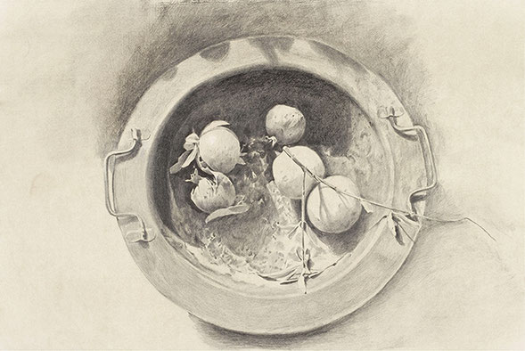 OHNE TITEL | Zeichnung |  48,8 × 65,5 cm