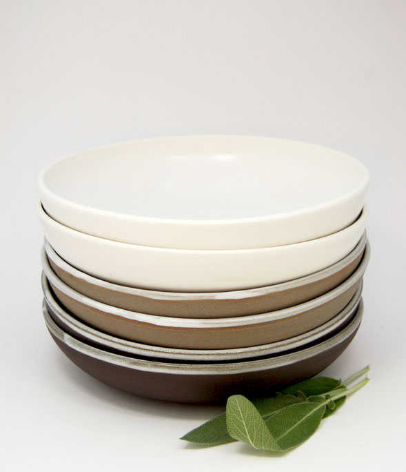 bols repas en céramique tournés à la main