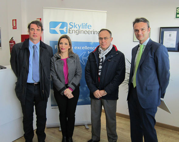 Visita a las empresa Skylife Engineering.