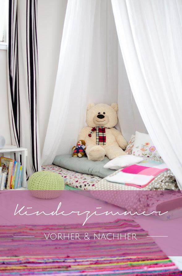 Kinderzimmer Umgestaltung