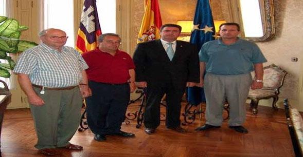 Inter-SOS con el presidente del parlamento Balear, Sr. Pere Roger.