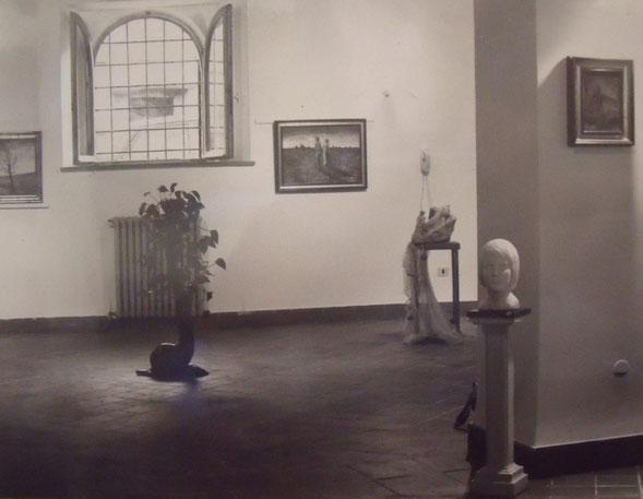 Un particolare della sala espositiva