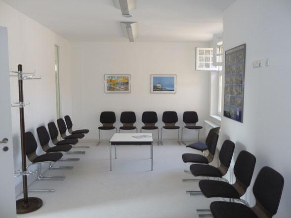 Praxis Christoph J. Huber Berliner Augenarzt Wartezimmer