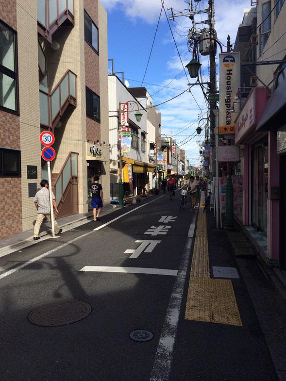 小田急線「梅ヶ丘」駅 徒歩1分 MTビル 前面道路